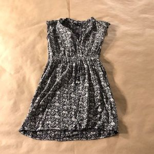 Casual Front Button Dress